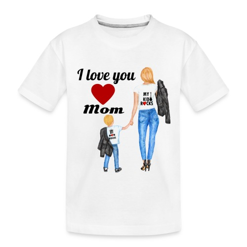 Mother's day gift from daughter, Mother's Day Gift - Toddler Premium Organic T-Shirt