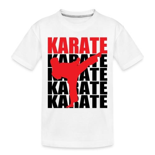 Karate - Toddler Premium Organic T-Shirt