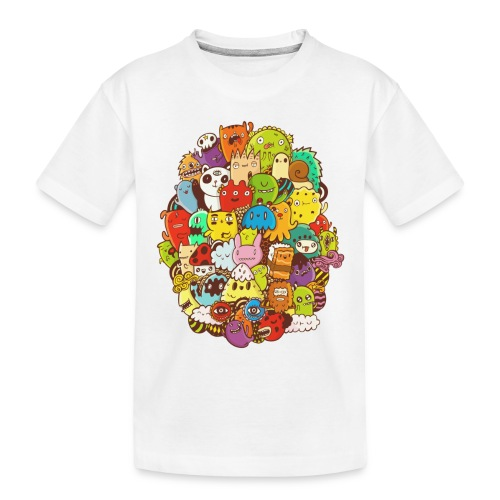 Doodle for a poodle - Toddler Premium Organic T-Shirt