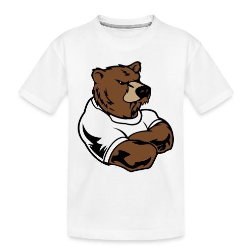 bear - Toddler Premium Organic T-Shirt