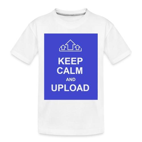 RockoWear Keep Calm - Toddler Premium Organic T-Shirt