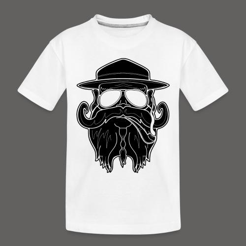 OldSchoolBiker - Toddler Premium Organic T-Shirt