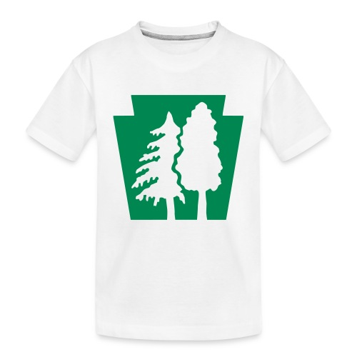 PA Keystone w/trees - Toddler Premium Organic T-Shirt