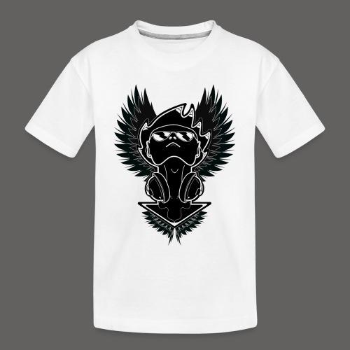 Winged Dj - Toddler Premium Organic T-Shirt