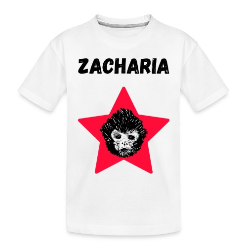 transparaent background Zacharia - Toddler Premium Organic T-Shirt