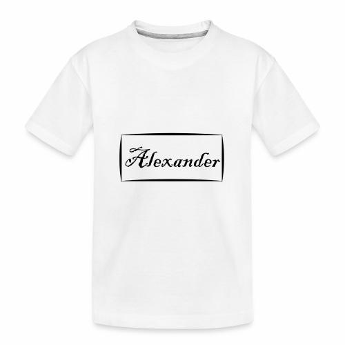 Alexander - Toddler Premium Organic T-Shirt