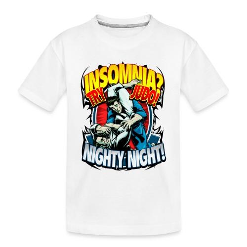 Insomnia Judo Design - Toddler Premium Organic T-Shirt
