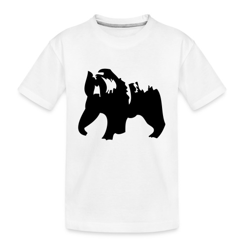 Grizzly bear - Toddler Premium Organic T-Shirt