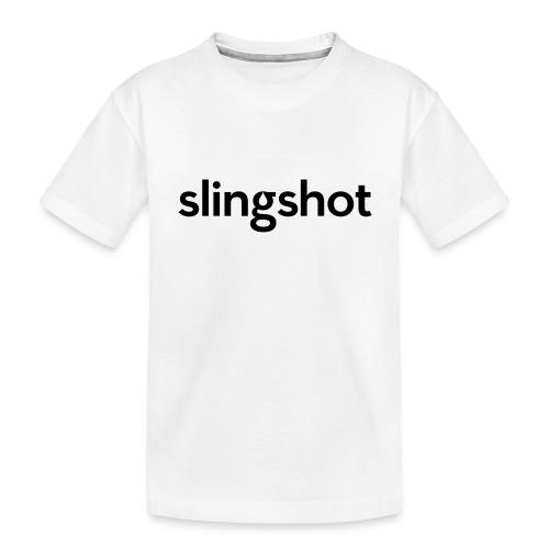 SlingShot Logo - Toddler Premium Organic T-Shirt