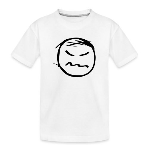 kicky head solo - Toddler Premium Organic T-Shirt