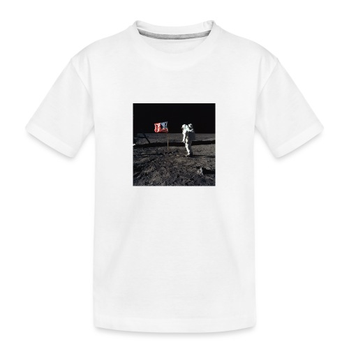 buzzAldrin jpg - Toddler Premium Organic T-Shirt