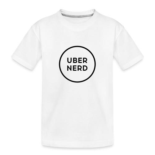 uber nerd logo - Toddler Premium Organic T-Shirt