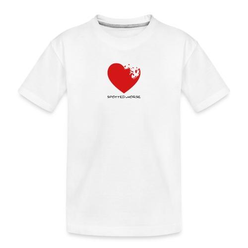 Appaloosa Heart - Toddler Premium Organic T-Shirt