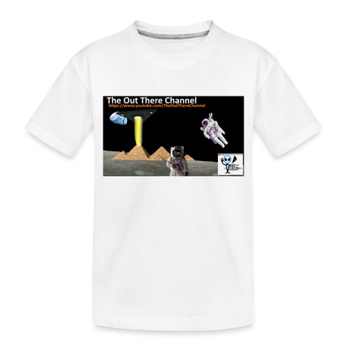 UFO Pyramids2019 New Logo with Back Crew Logo - Toddler Premium Organic T-Shirt