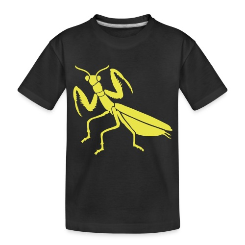 praying mantis bug insect - Toddler Premium Organic T-Shirt