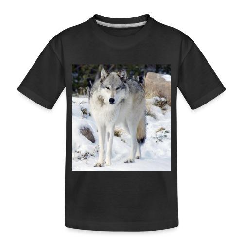 Canis lupus occidentalis - Toddler Premium Organic T-Shirt