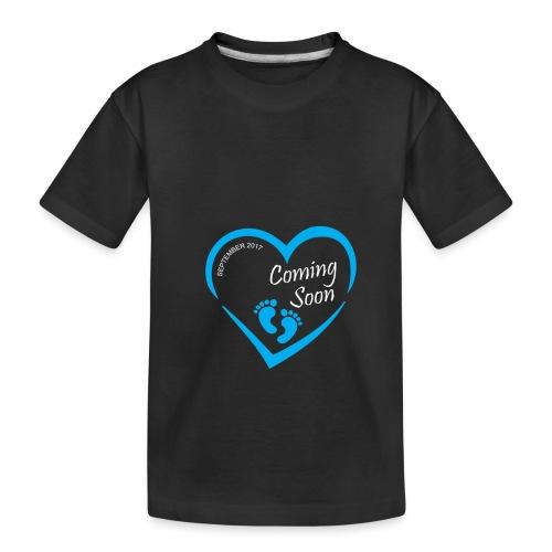 Baby coming soon - Toddler Premium Organic T-Shirt