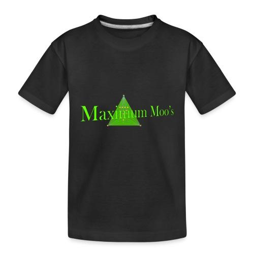 Maximum Moos - Toddler Premium Organic T-Shirt