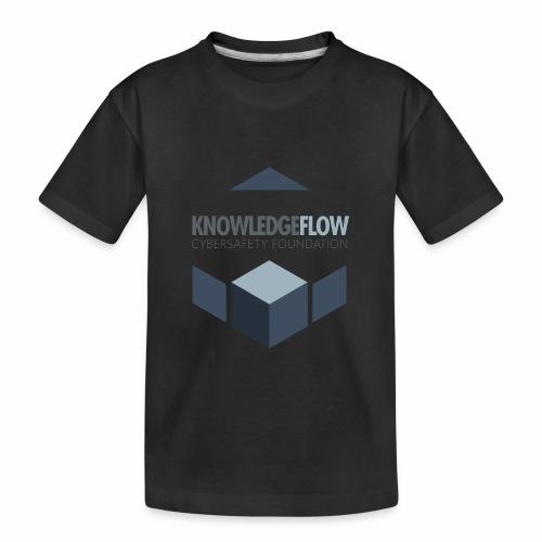 KnowledgeFlow Cybersafety Foundation - Toddler Premium Organic T-Shirt
