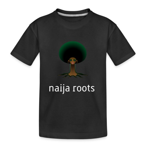 naijaroots - Toddler Premium Organic T-Shirt