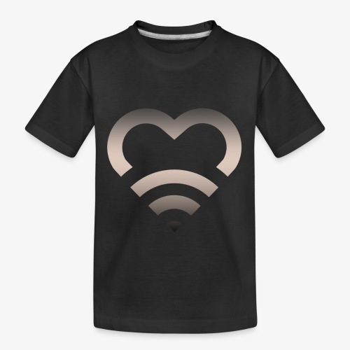I Heart Wifi IPhone Case - Toddler Premium Organic T-Shirt