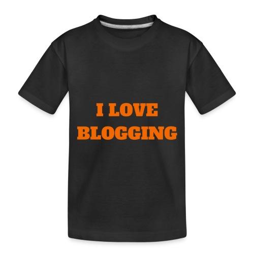 iloveblogging - Toddler Premium Organic T-Shirt