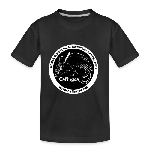 Esfinges Logo Black - Toddler Premium Organic T-Shirt