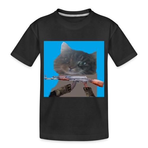 cat - Toddler Premium Organic T-Shirt