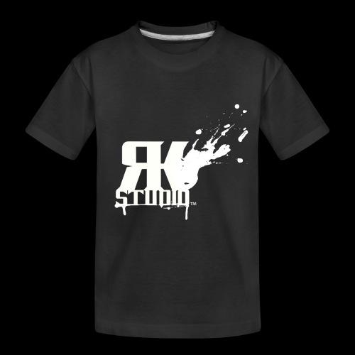 RKStudio White Logo Version - Toddler Premium Organic T-Shirt