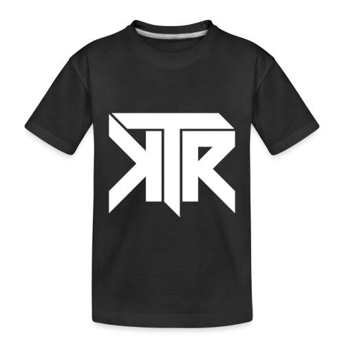 KTR Logo White - Toddler Premium Organic T-Shirt