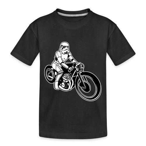 Stormtrooper Motorcycle - Toddler Premium Organic T-Shirt