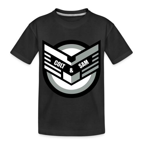 COLT AND SAM LOGO - Toddler Premium Organic T-Shirt