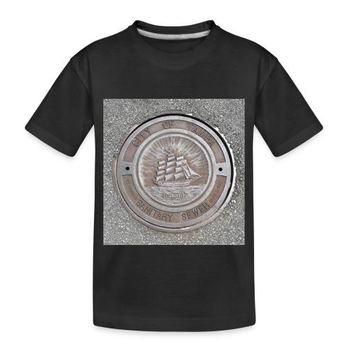 Sewer Tee - Toddler Premium Organic T-Shirt