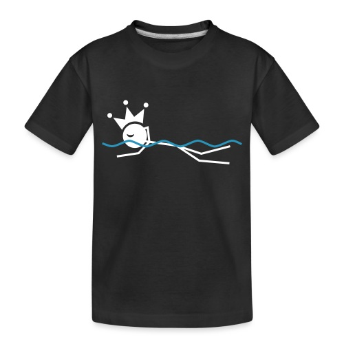 Winky Swimming King - Toddler Premium Organic T-Shirt