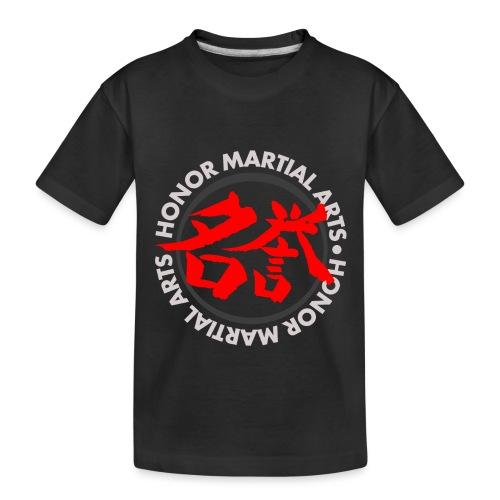 Honor Martial Arts Kanji Design Light Shirts - Toddler Premium Organic T-Shirt