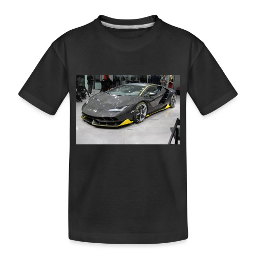 lambo shirt limeted - Toddler Premium Organic T-Shirt