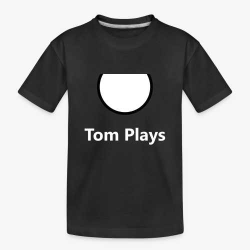 TomPlaysCircle - Toddler Premium Organic T-Shirt