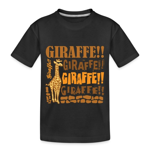 Giraffe!! - Toddler Premium Organic T-Shirt