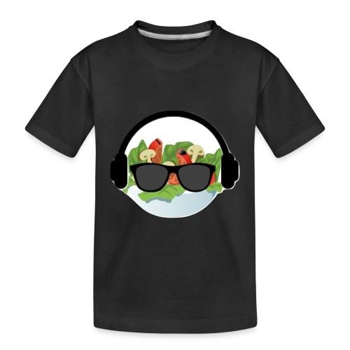 DJ salad merchandise - Toddler Premium Organic T-Shirt