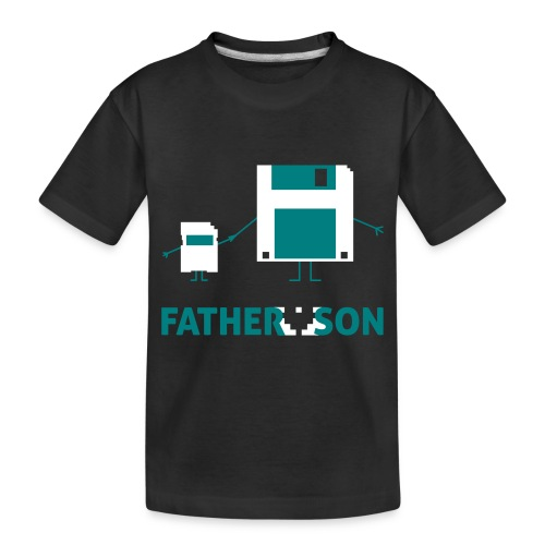 Father and Son - Toddler Premium Organic T-Shirt