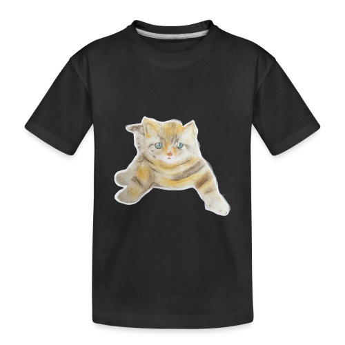 sad boy - Toddler Premium Organic T-Shirt
