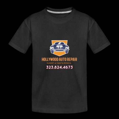 CLASSIC CARS! CLASSIC HOLLYWOOD! - Toddler Premium Organic T-Shirt