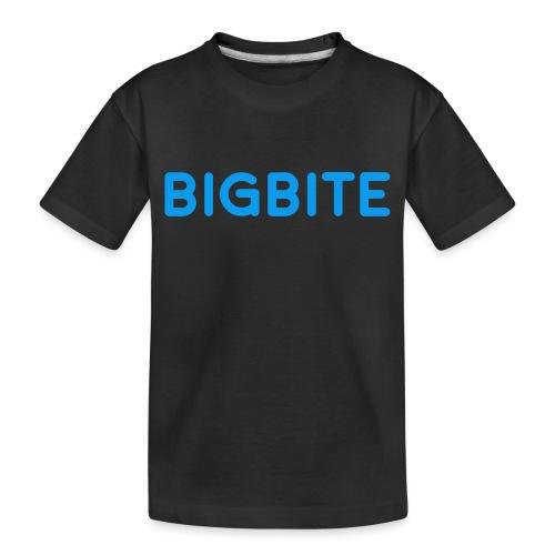 Toddler BIGBITE Logo Tee - Toddler Premium Organic T-Shirt