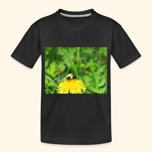 Dandelion Bee - Toddler Premium Organic T-Shirt