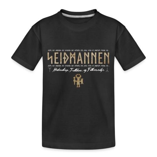 SEIÐMANNEN - Heathenry, Magic & Folktales - Toddler Premium Organic T-Shirt