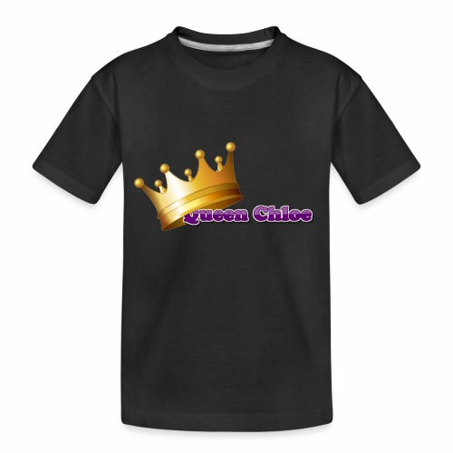 Queen Chloe - Toddler Premium Organic T-Shirt