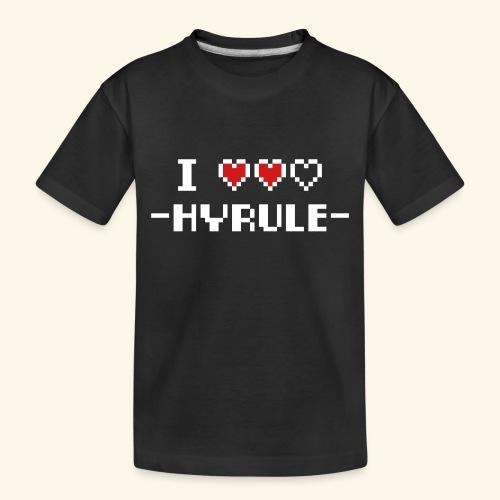 I Love Hyrule - Toddler Premium Organic T-Shirt