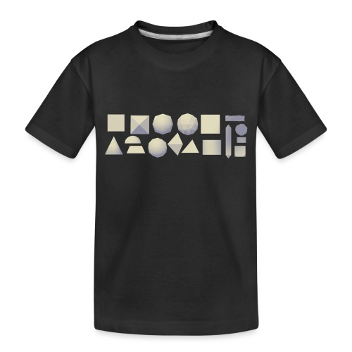Anyland shapes - Toddler Premium Organic T-Shirt