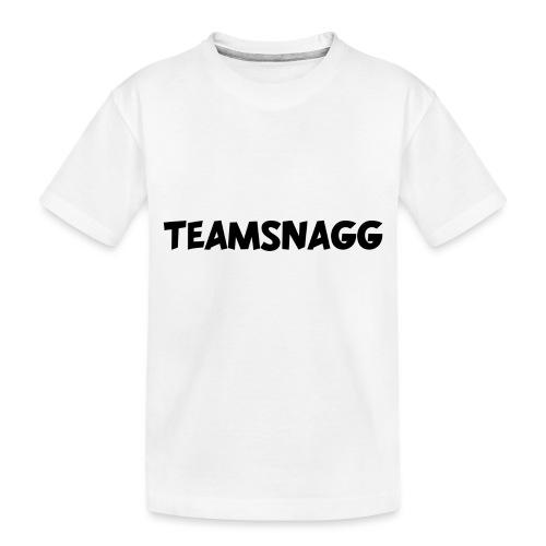 TeamSnagg Logo - Toddler Premium Organic T-Shirt