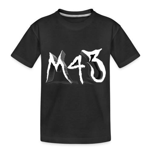 M43 Logo 2018 - Toddler Premium Organic T-Shirt